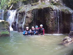 Accompaniment Canyoning